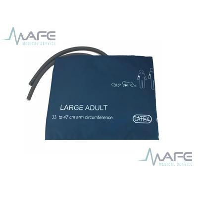 BRAZALETE ADULTO GRANDE 33 A 47 CM CON DOS VIAS SIN CONECTORES MARCA INDEX CF004LF-B